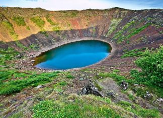 Kerio Crater in Iceland