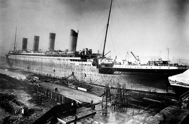 The Titanic History started produly at its maiden voyage to New York just before noon on April 10, 1912, from Southampton, England.