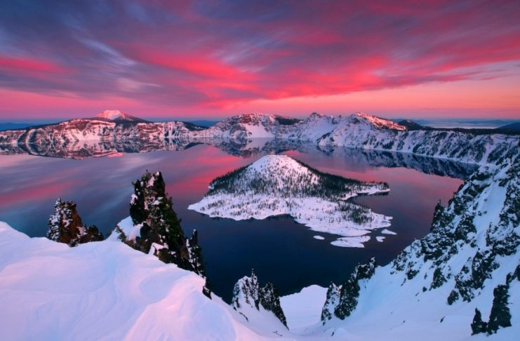 The Scared Crater Lake of Oregon