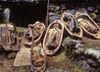 Kabayan Mummies are famous as, Ibaloi Mummies, Benguet Mummies, Fire Mummies can find at Kabayan town in the northern part of the Philippines.