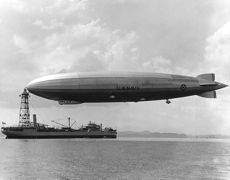 It provided an ideal opportunity (and the first) for British aviation scientists to study the intricacies and details of Zeppelin technology at first hand.