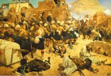 The second Anglo-Afghan War has a rich history. The English Cabinet was making futile attempts to reach an understanding with Russia.