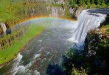 The Gorgeous Mesa Falls in Idaho
