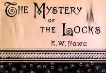THE MYSTERY OF THE LOCKS - THE TOWN OF DARK NIGHTS.DAVY'S BEND a river town, a failing town, and an old town, on a dark night,