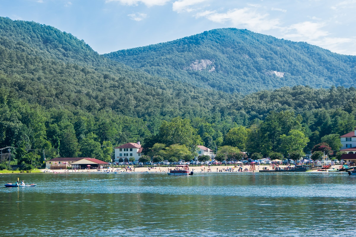 Lake Lure in NC was a small town and it was incorporated in 1927. It is located at Rutherford County, North Carolina, United States.