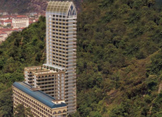 Brazil High Rise Vertical Cemetery in Santos, which has now become the tallest cemetery in the world and is listed in Guinness World Records.