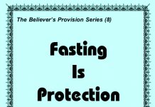 Fasting is Protection