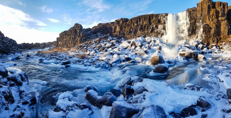 This is one of the major historic attractions to the UNESCO World Heritage Site of Þingvellir National Park.