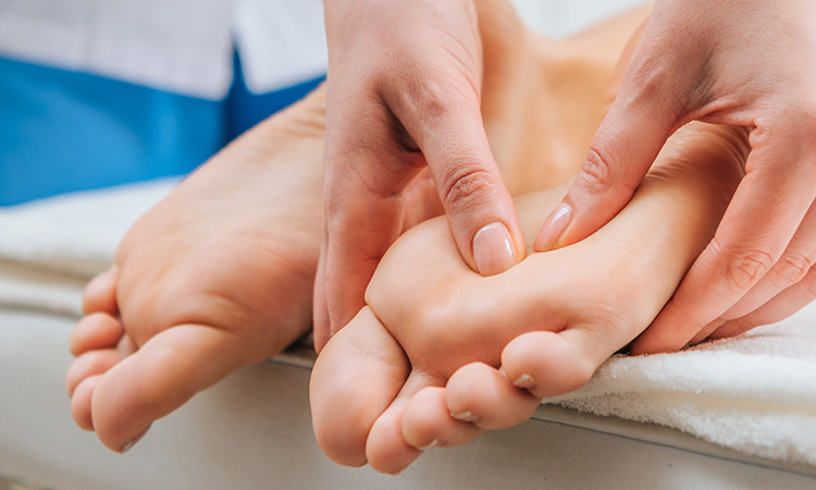 Reflexology or zone therapy is actually based on the Chinese technique of compression. Ancient Egyptians were familiar with this treatment.