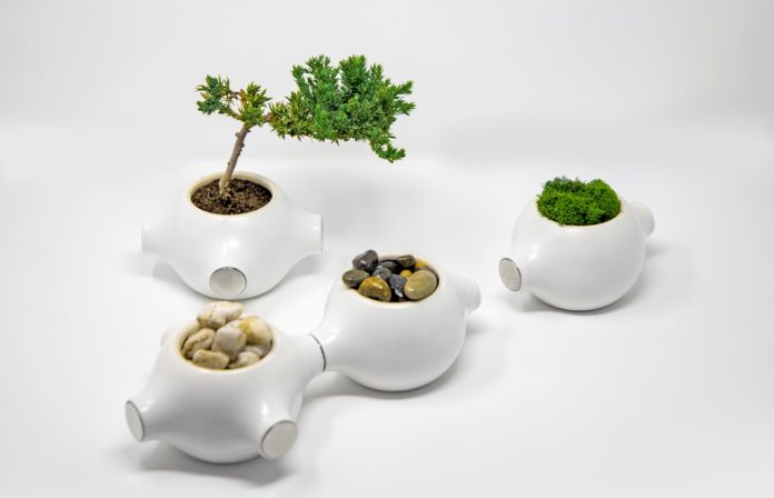 Magnapot is an innovative planter that doubles as an organizer, and according to the creators, it is only as limited as your own creativity.